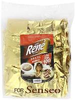 Philips Senseo 100 x Café Rene Crème Brasil Coffee Pads Bags Pods for sale  United Kingdom