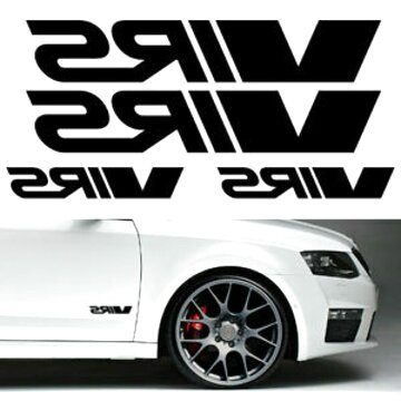 "Octavia Fabia /""Skoda Motorsport/"" Sticker Seat Sport Strut Brace Decal vRS"