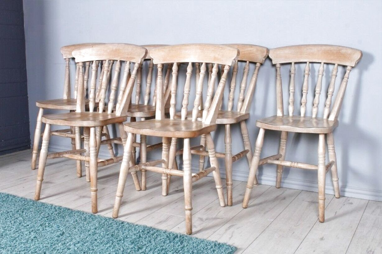 beech farmhouse chairs for sale