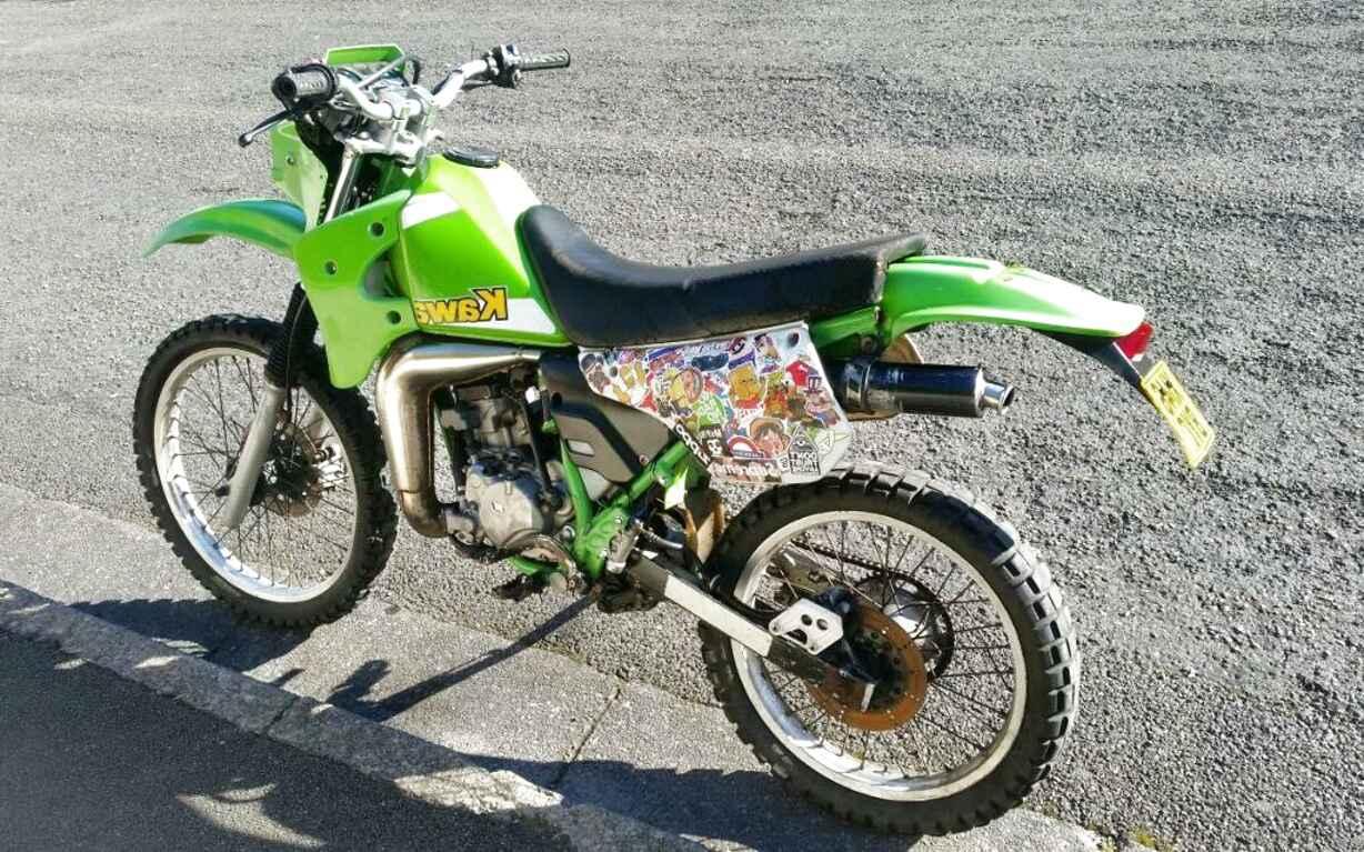 0125 CC Kawasaki KMX 125 A7 1993 Indicator Complete Rear Right R//H