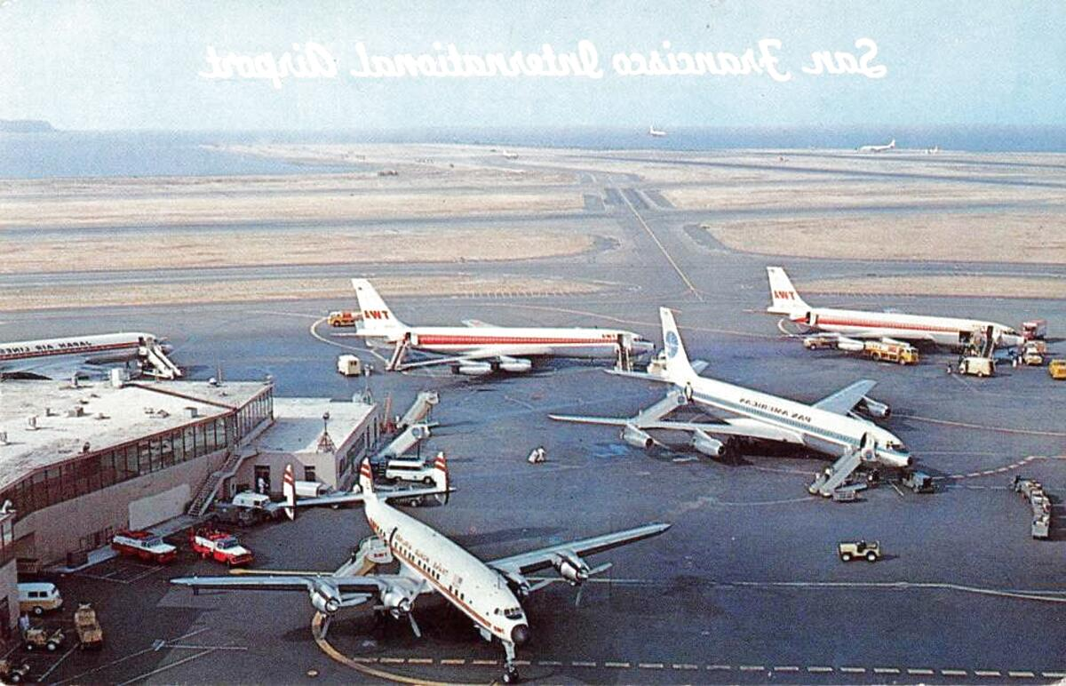 airport postcards for sale