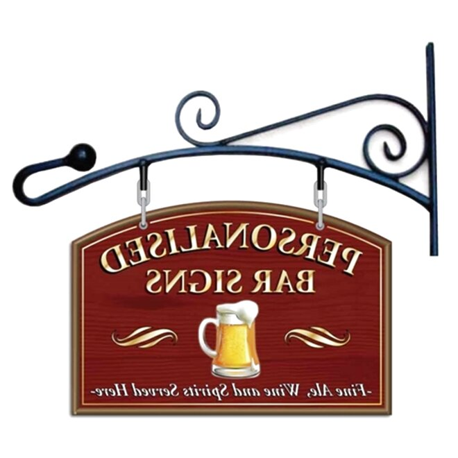 personalised pub signs for sale
