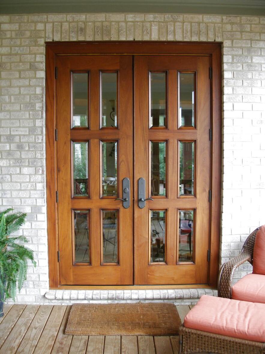 wooden patio doors for sale