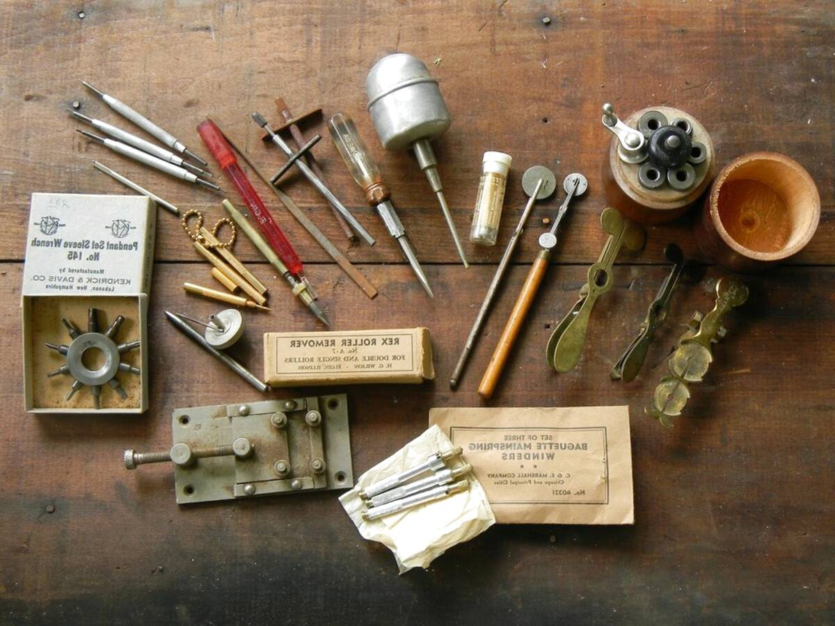 watchmakers tools vintage for sale