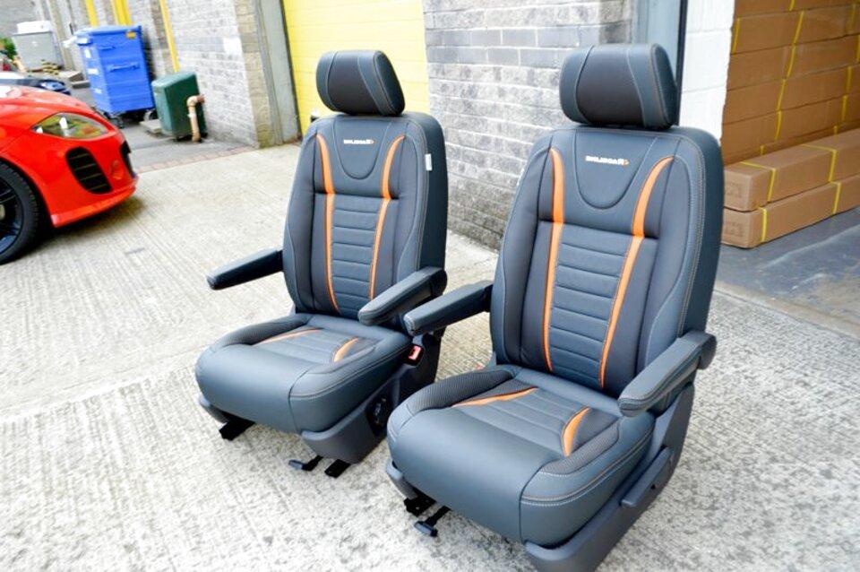 DKMOTO DK640P1 Tailored Van Seat Covers for Volkswagen Transporter T6