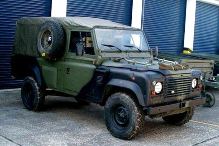 x military land rovers for sale