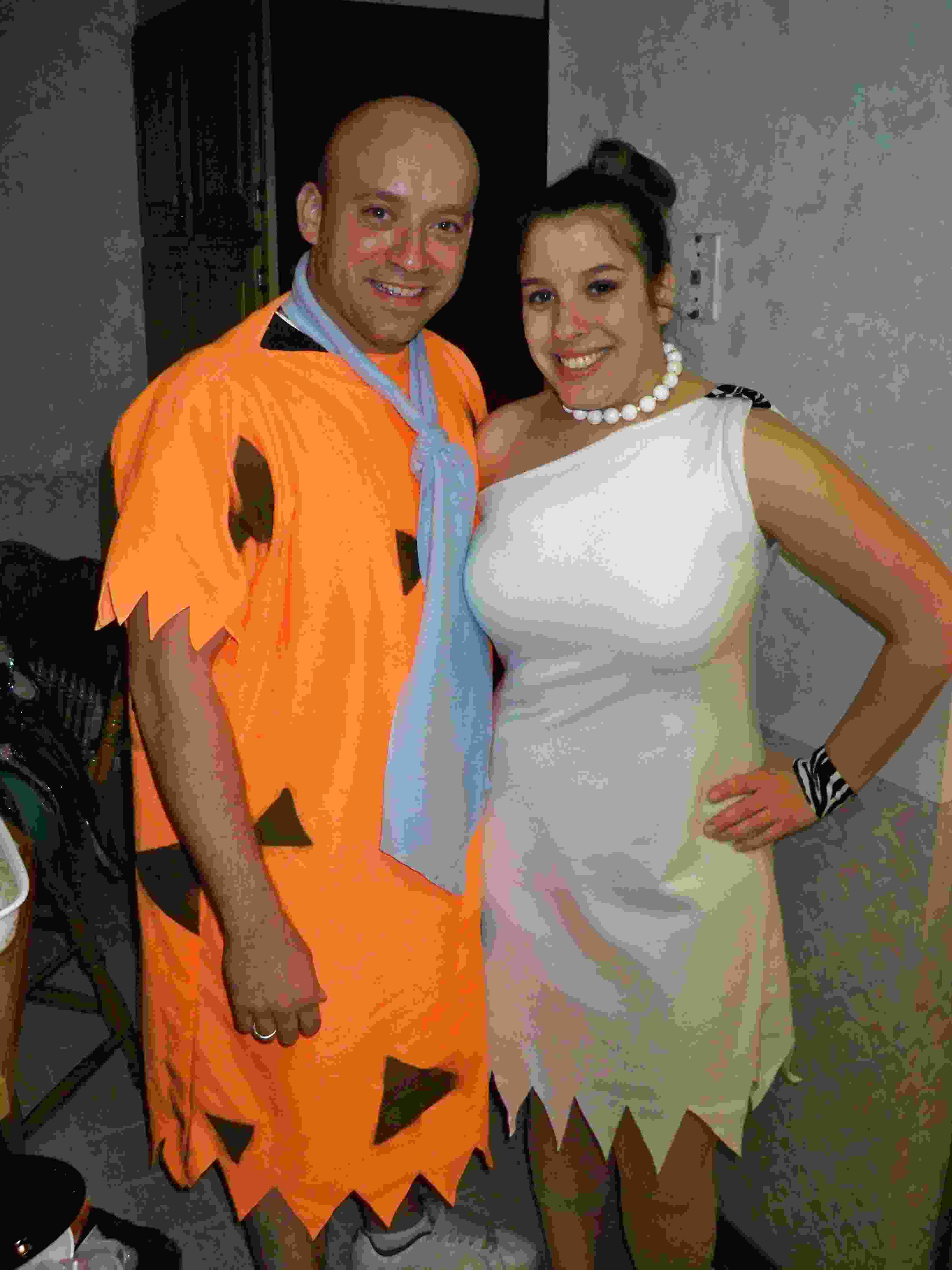 Adult Licensed 70s Flintstones Deluxe Fred Flintstone Mens Fancy Dress Costume