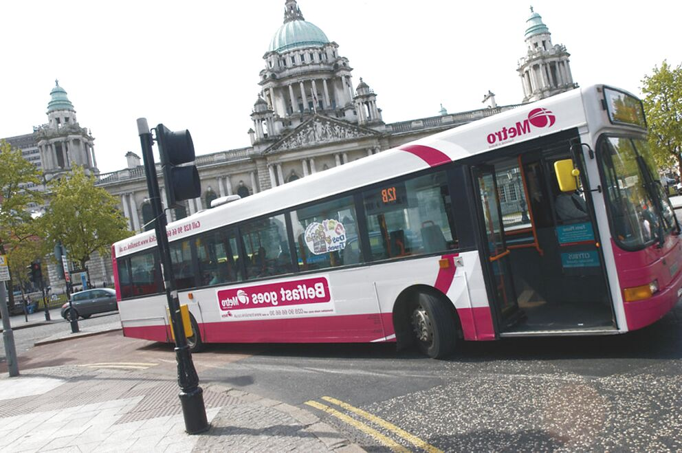 belfast bus for sale