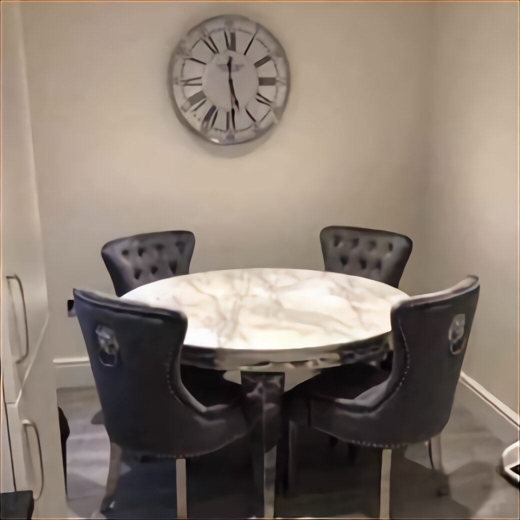 Marble Dining Table Chairs for sale in UK   View 9 ads