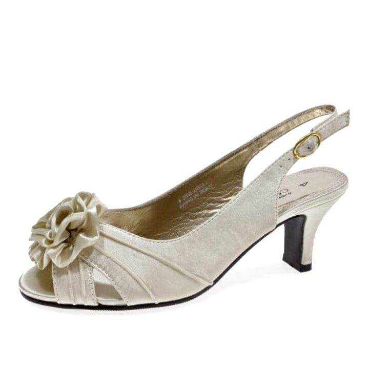 wide fit satin shoes for sale