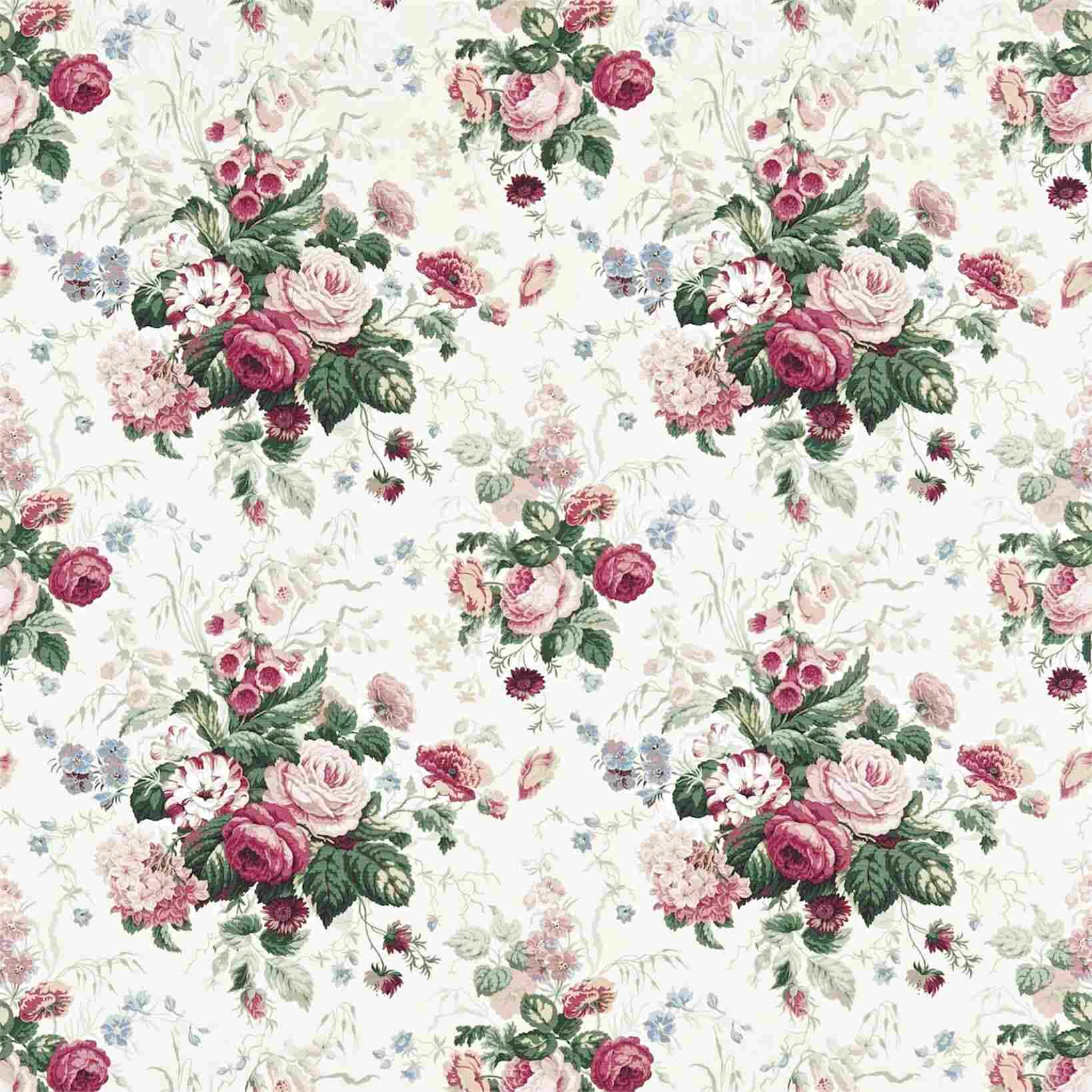 sanderson floral fabric for sale