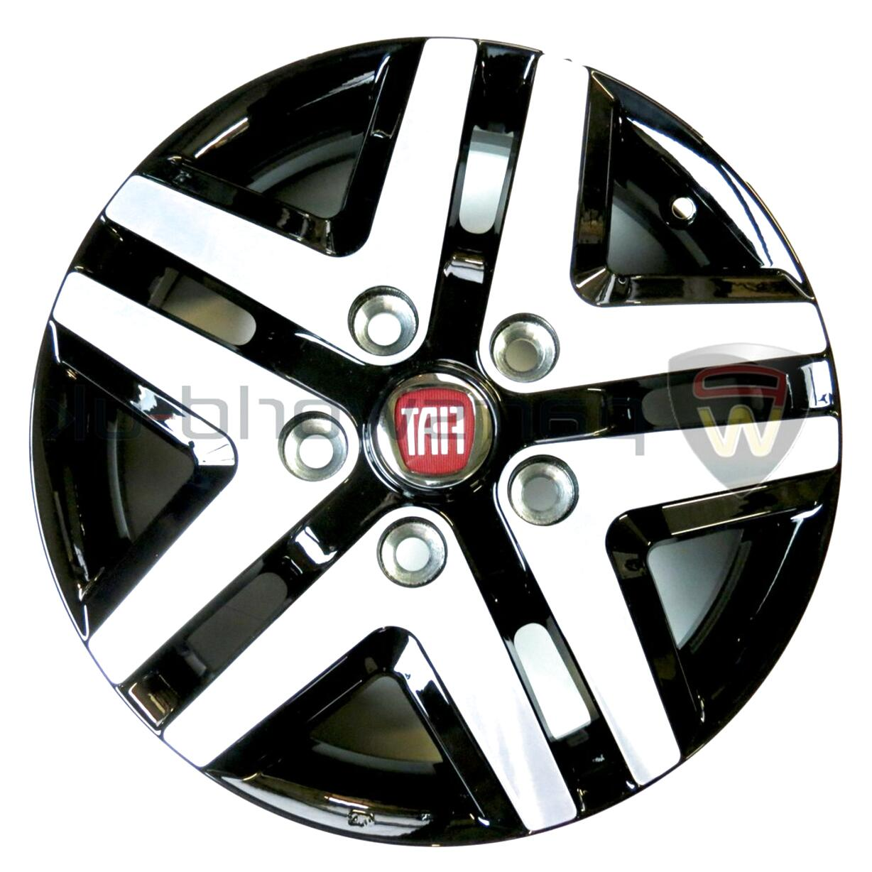 Leisurewize Fiat Doblo 15 Universal Deep Dish Chrome Van Wheel Trims x4