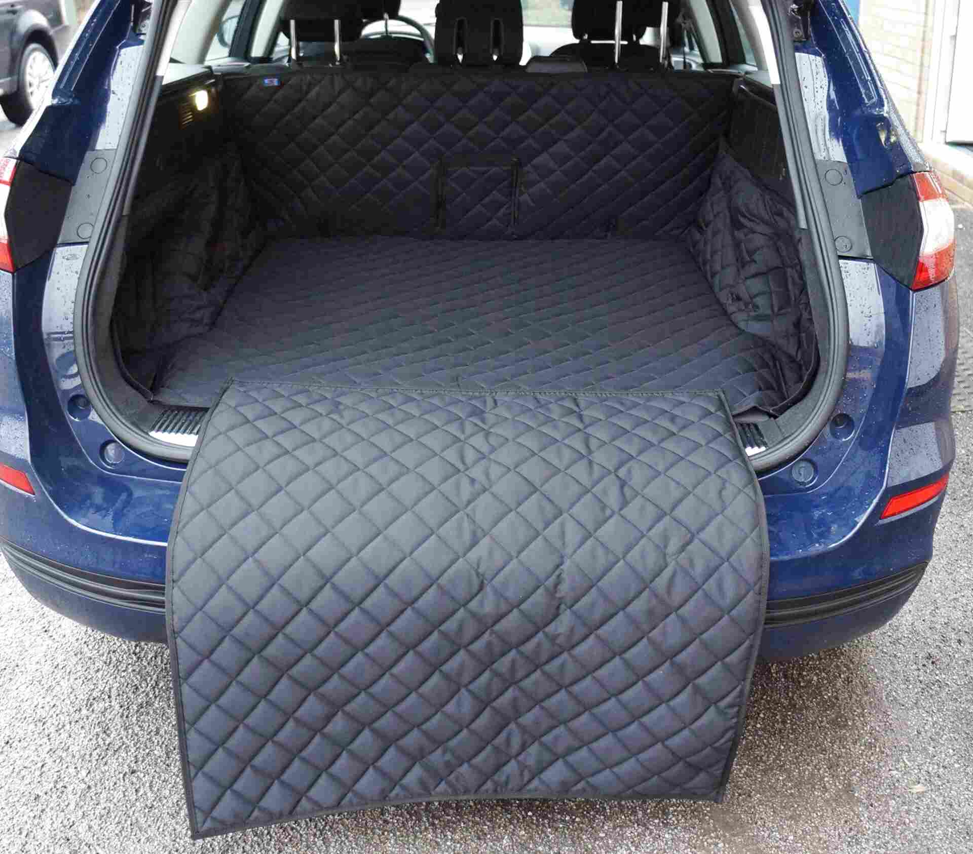 Quilt Thick Boot Cover Guard Liner Protector For Ford Mondeo Hatchback 2014 On