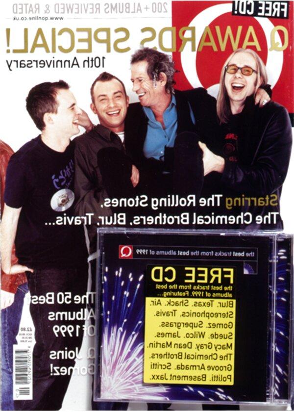 q magazine cd for sale