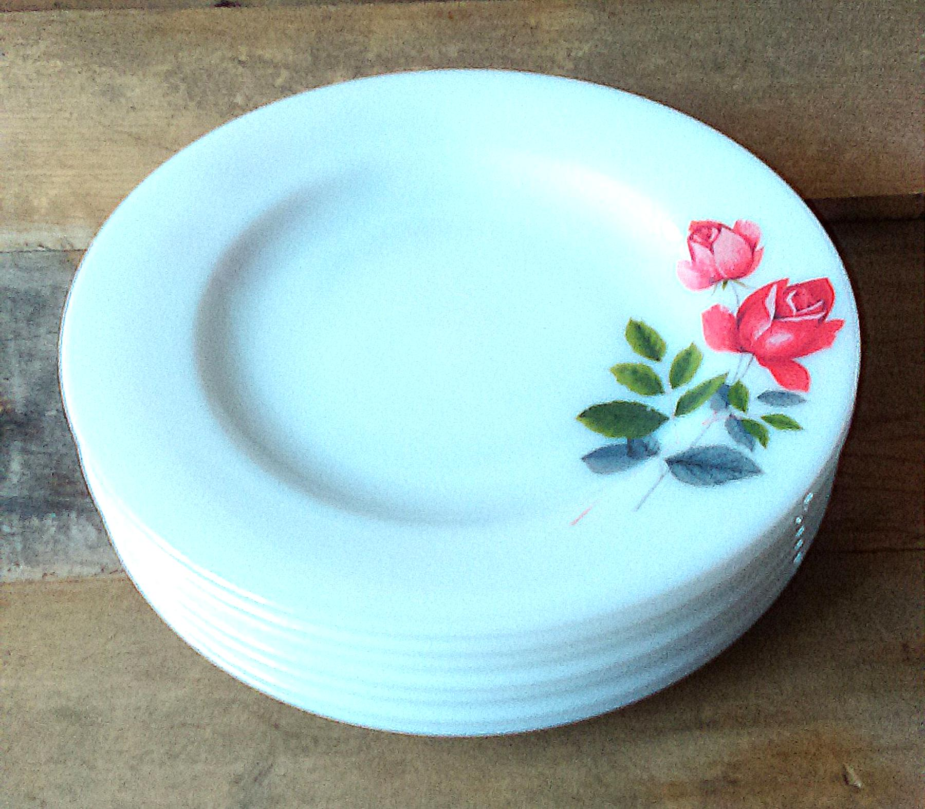 pyrex dinner plates for sale