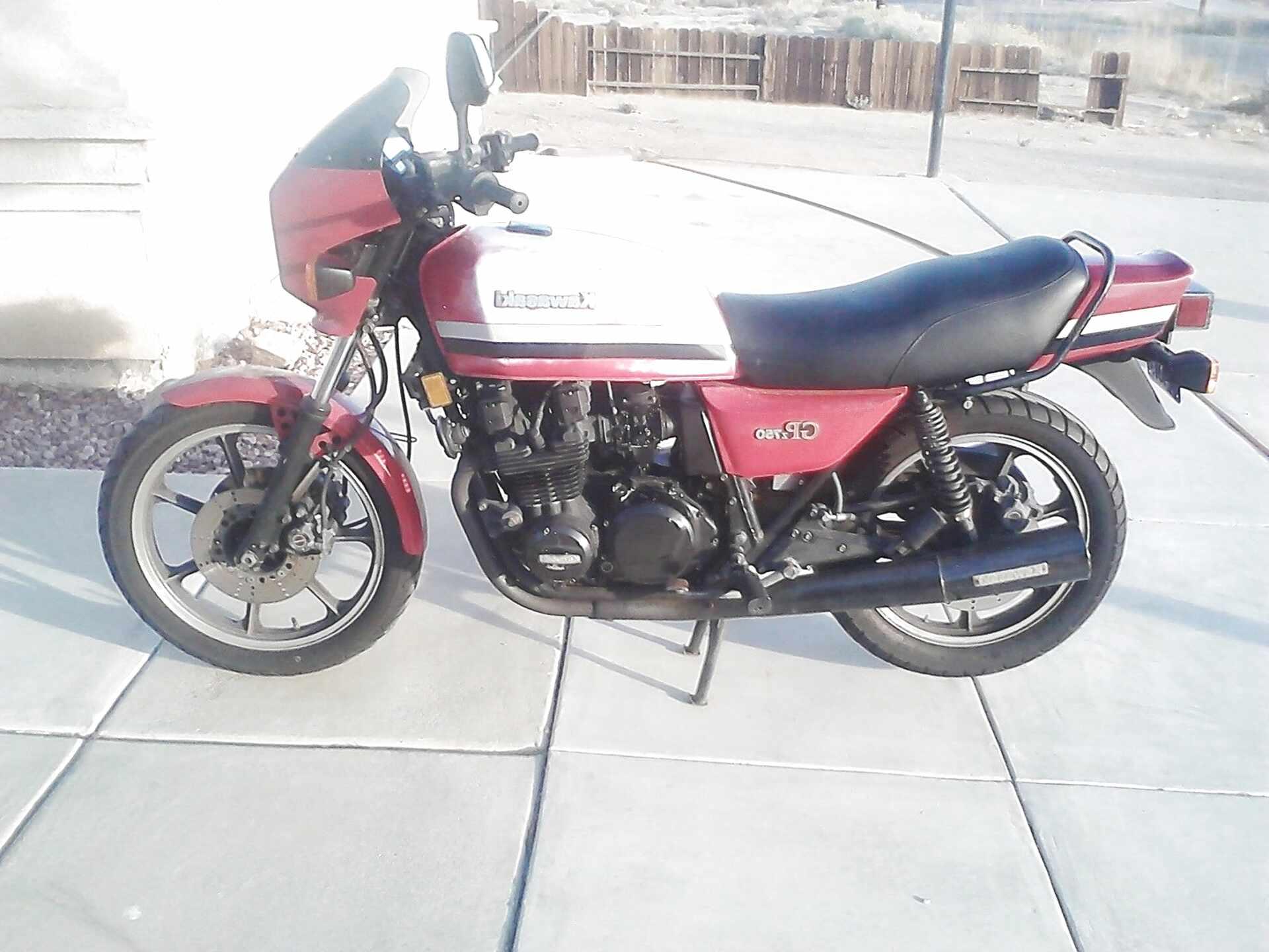 Taillight Lens Kawasaki GPZ 550 H1  1982 CC