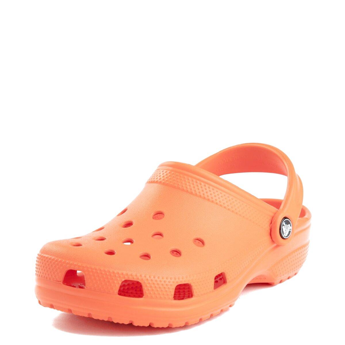 orange crocs for sale