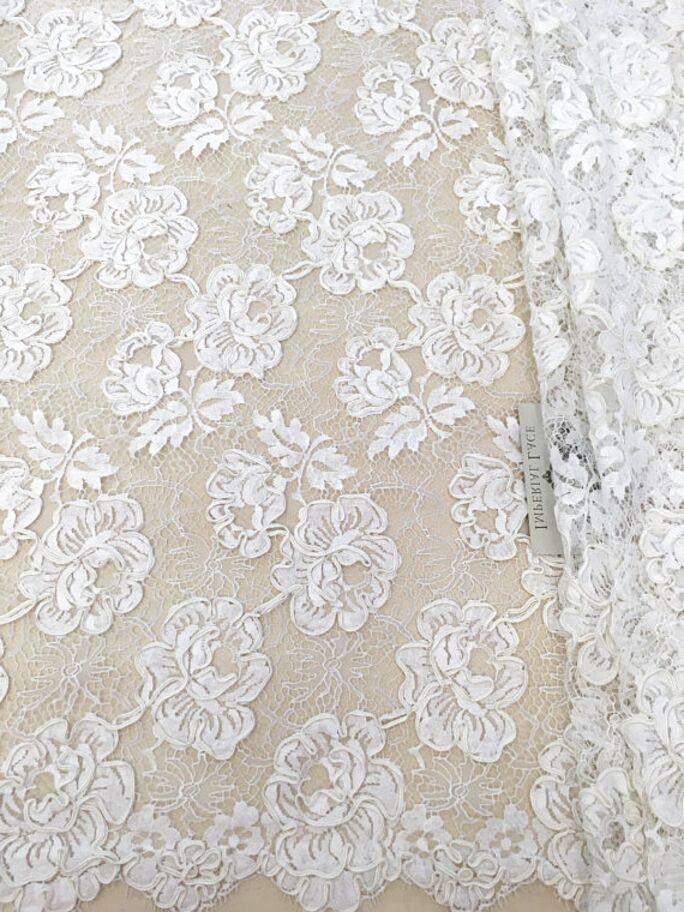 dress fabric /'Gatsby I' Embroidered French Lace sewing per metre