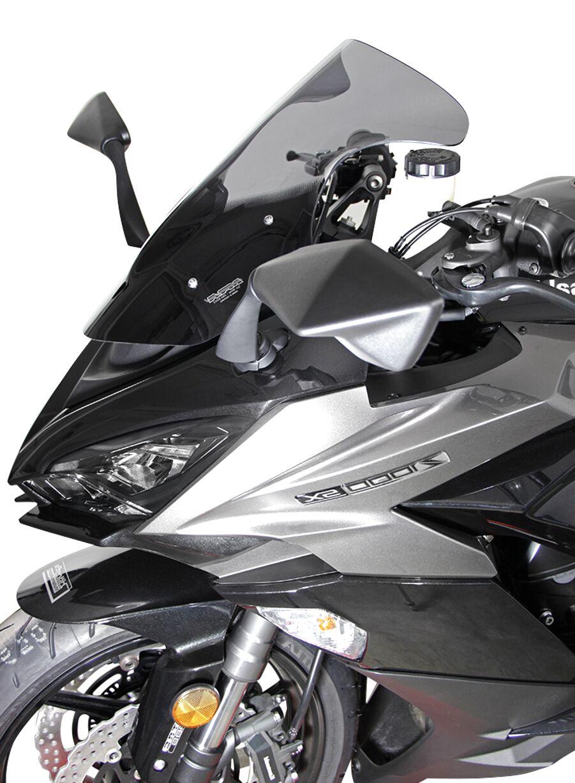 Kawasaki Z1000 SX  2011-2016 Standard Screen Dark Grey Tint,made In The Uk,new.