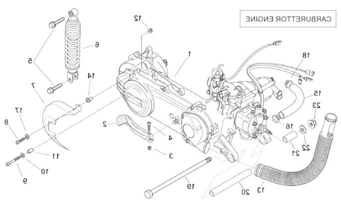 aprilia sr 50 engine for sale