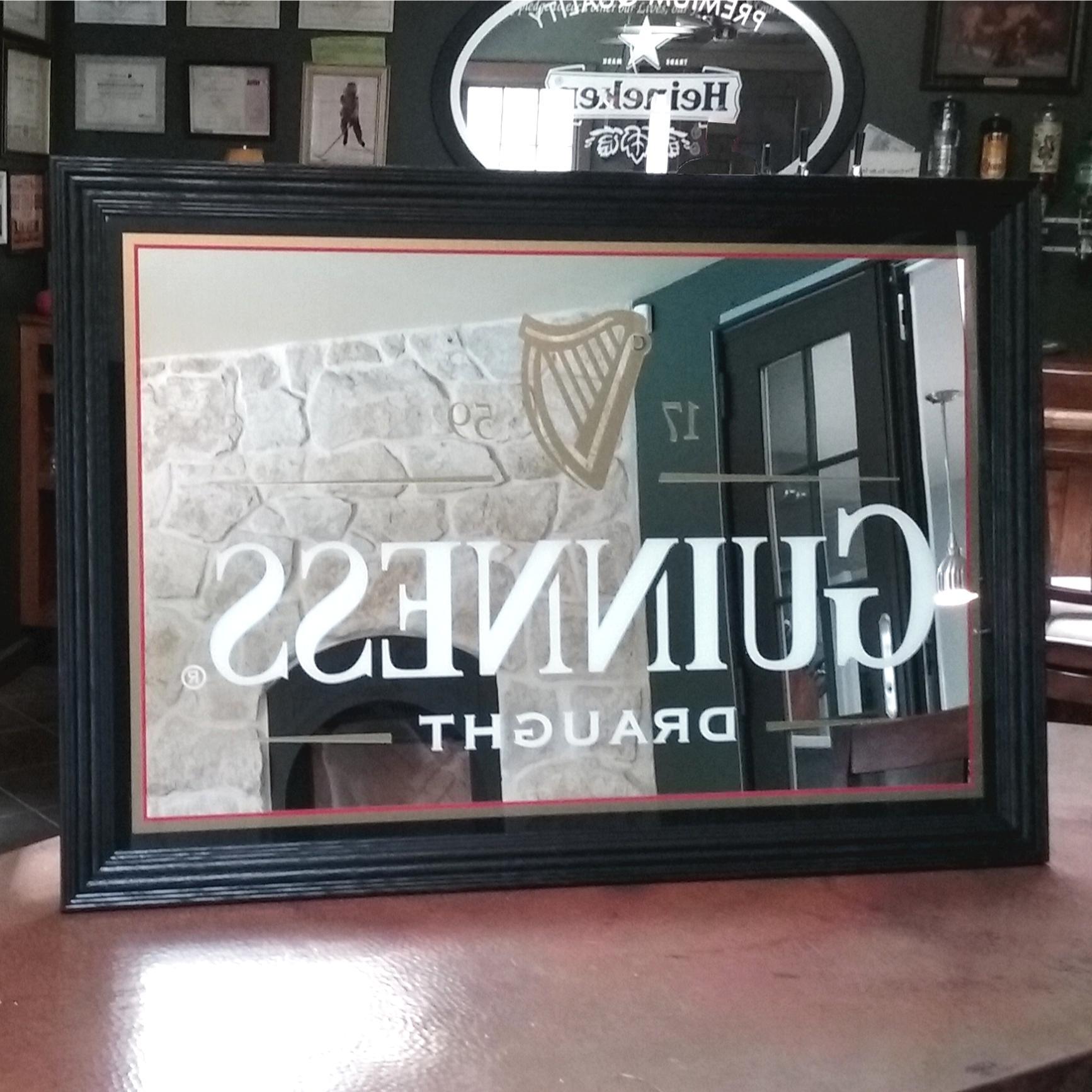 pub mirror for sale