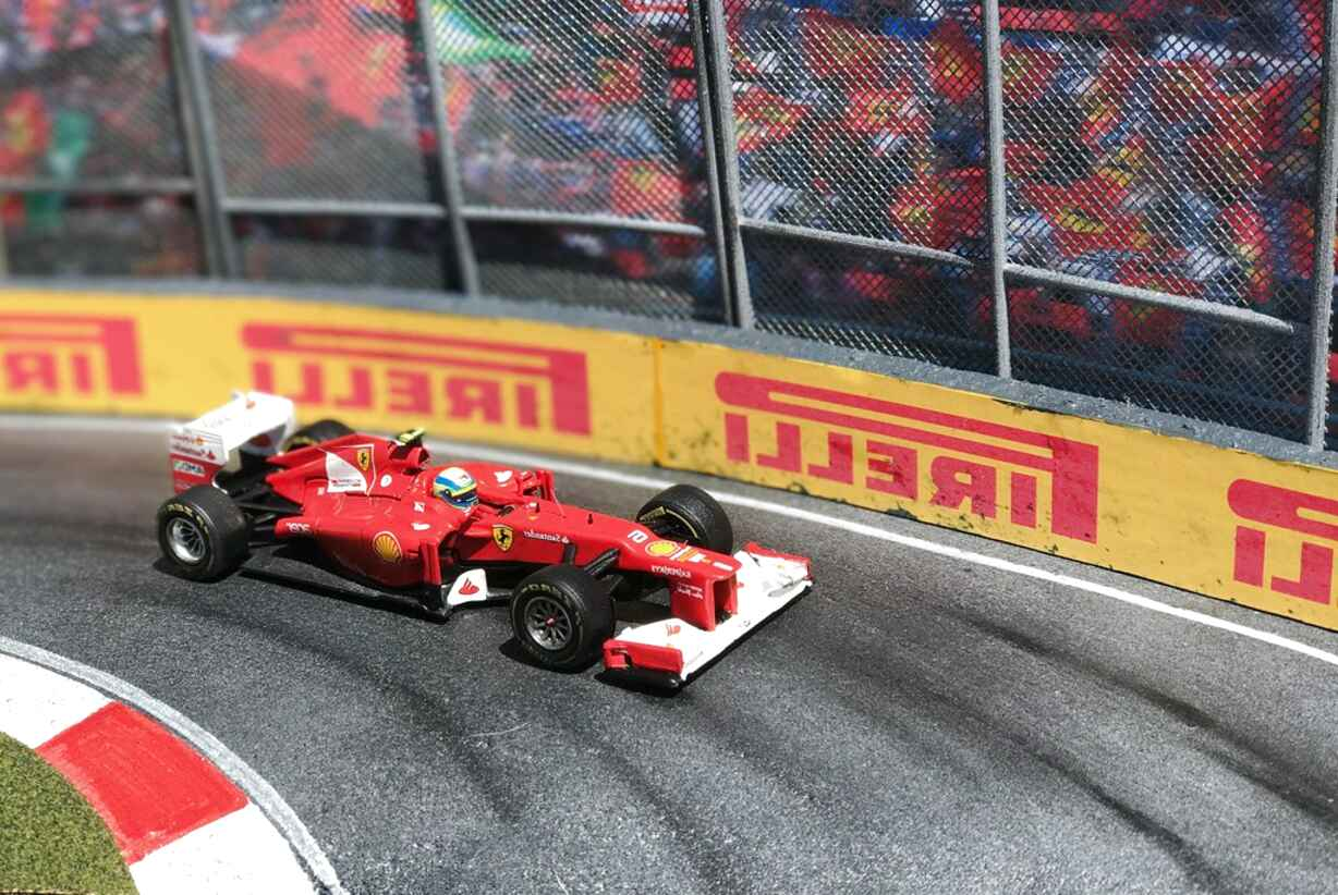 f1 diorama for sale
