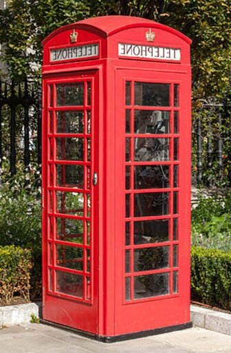 k6 red telephone box for sale