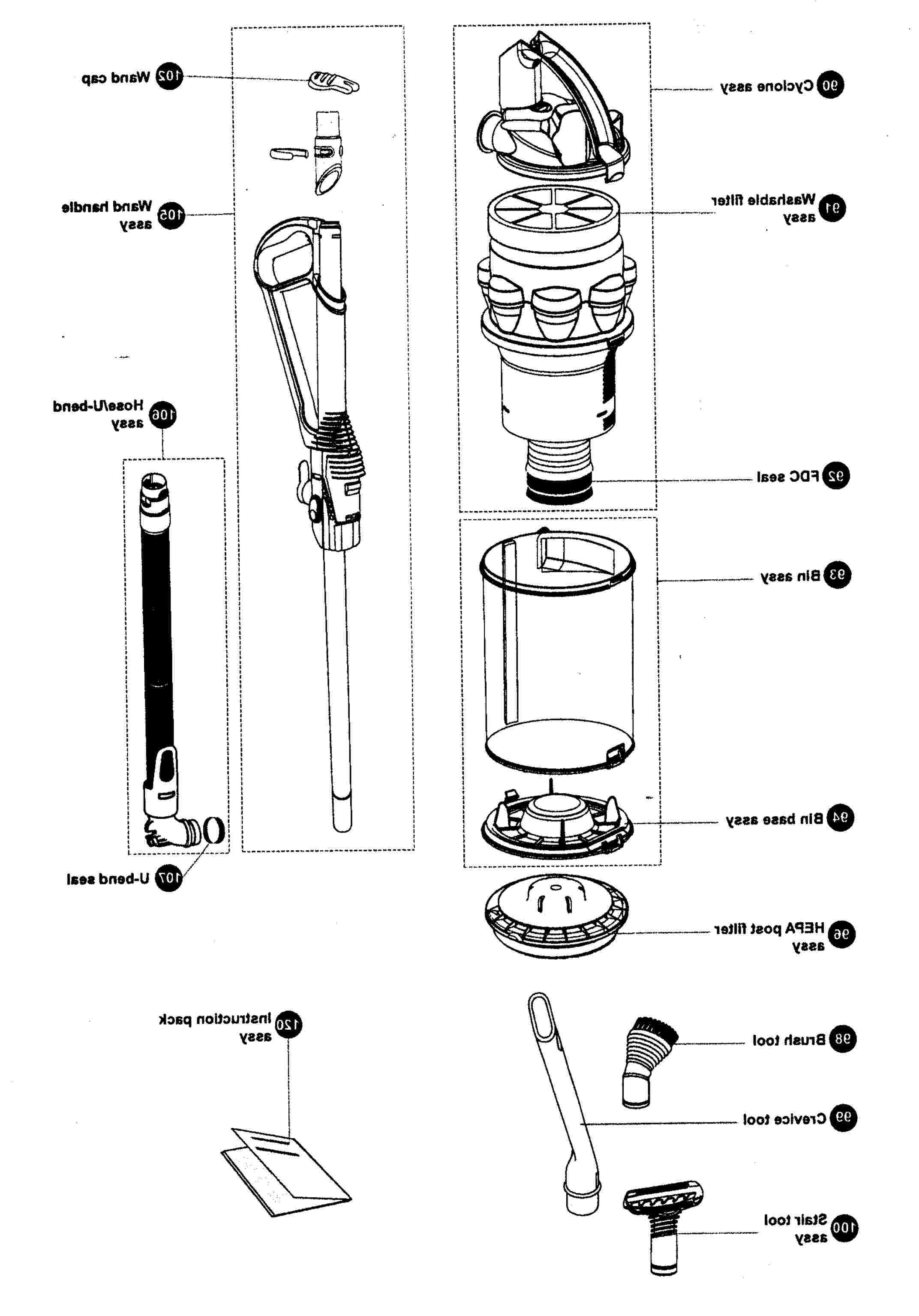 dyson vacuum cleaner parts for sale