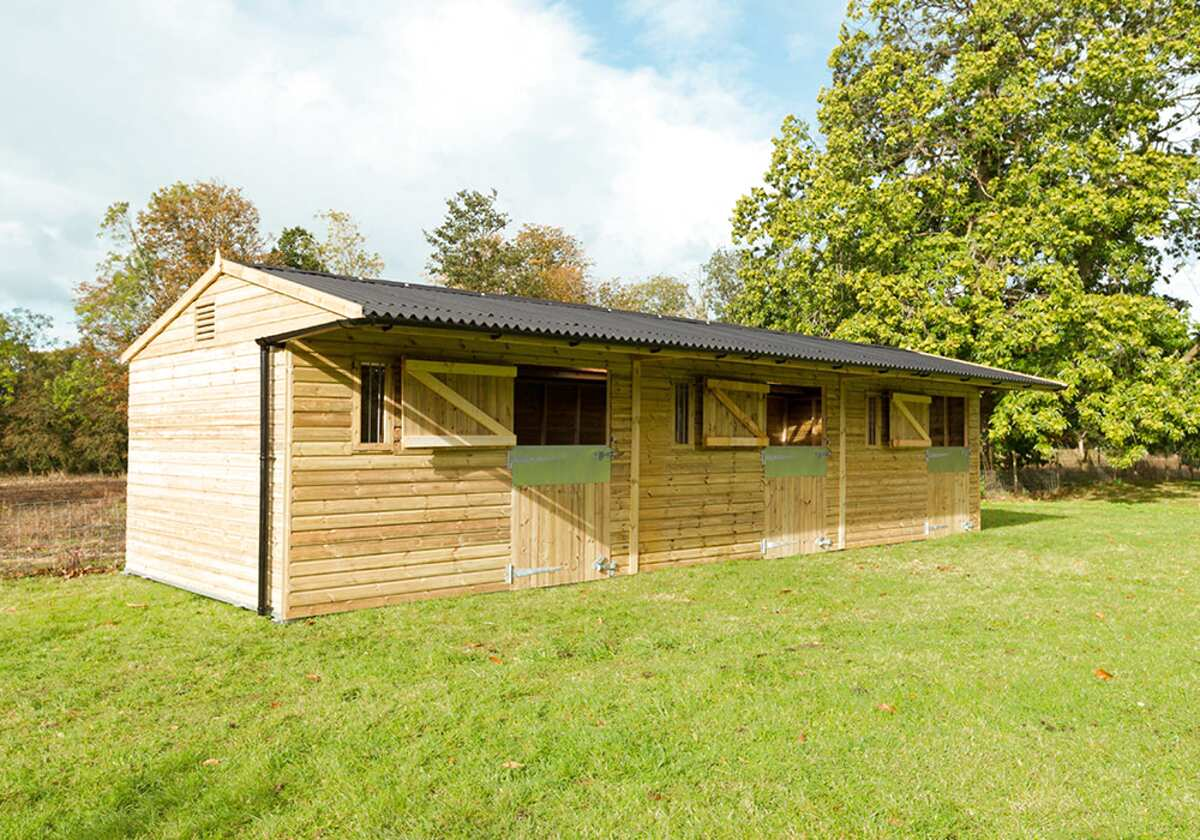 mobile stables for sale