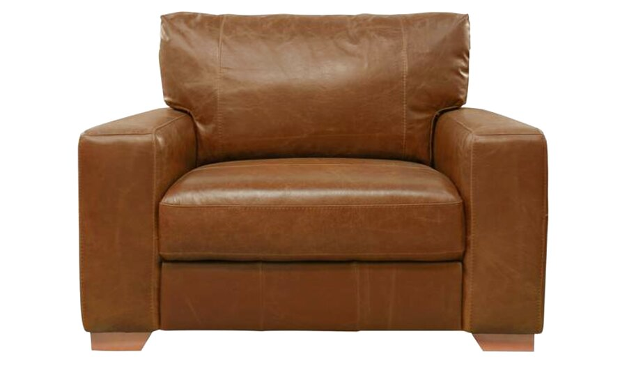 leather snuggle chair for sale