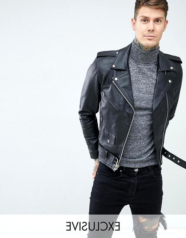 leather biker jacket for sale