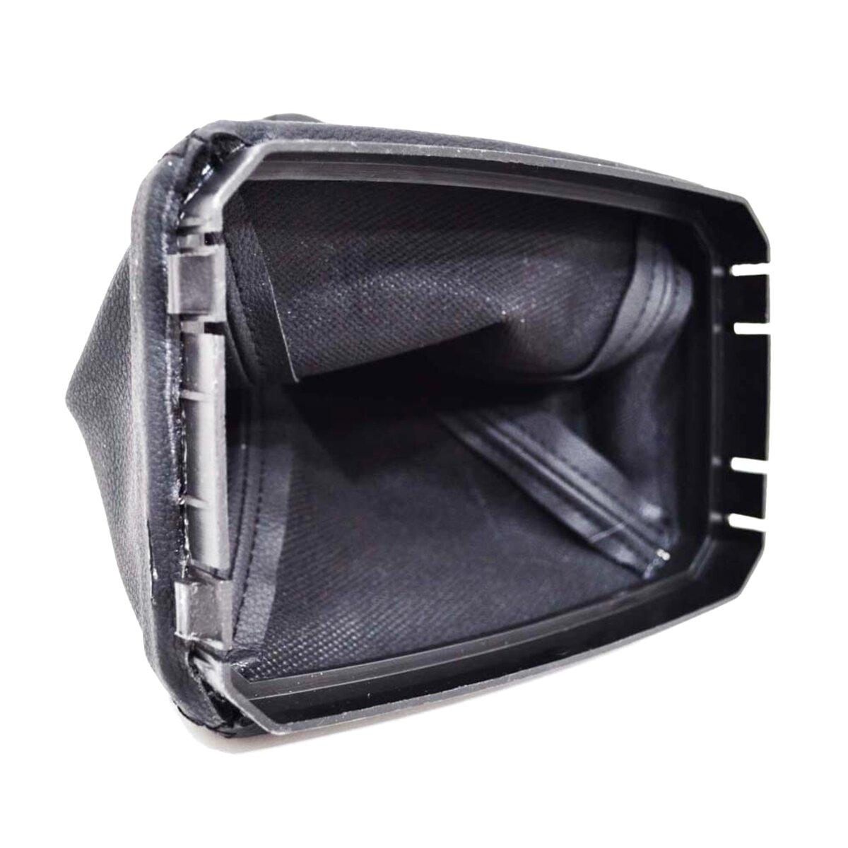 Color Aerzetix Dark grey . Gear shift gaiter of faux leather