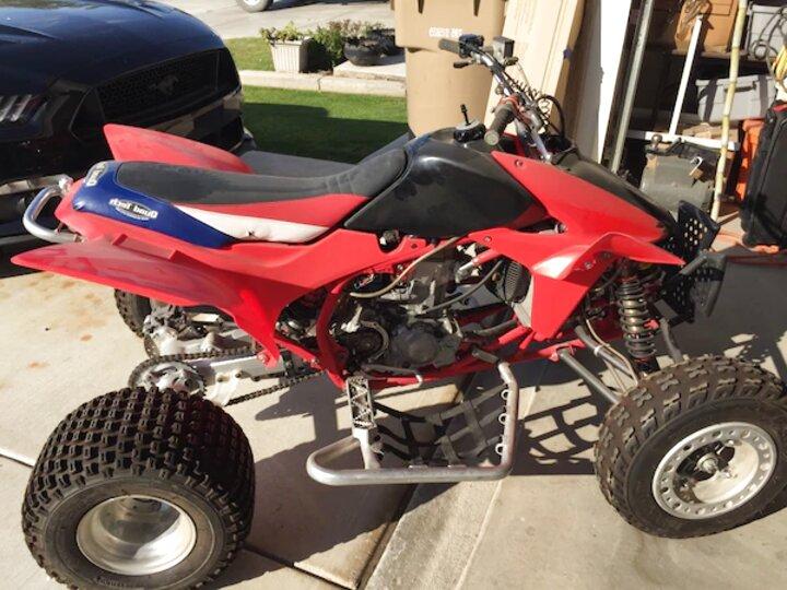 Honda ATV TRX450 Honda Hand Brake Cable OEM 43460-HN0-A00