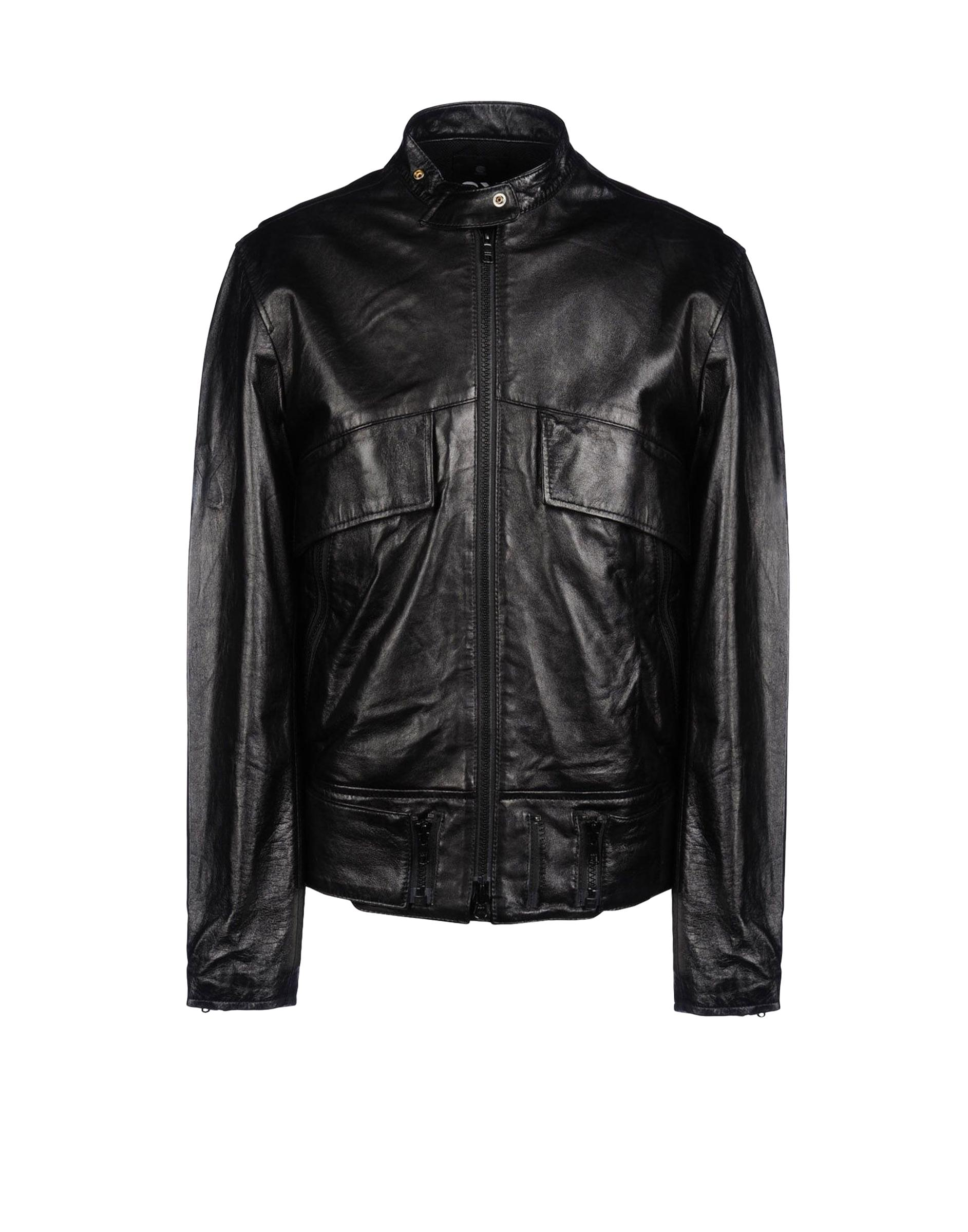 y3 leather jacket for sale