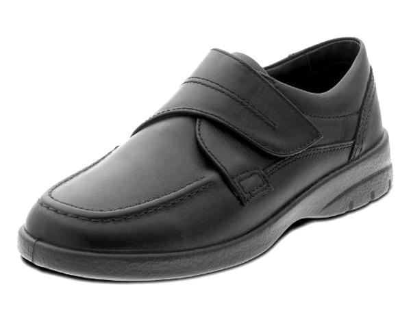 mens wide fit velcro shoes for sale