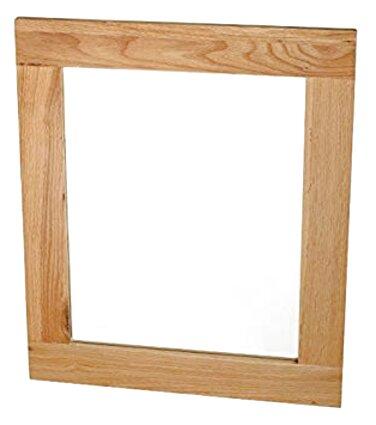 oak framed mirror for sale