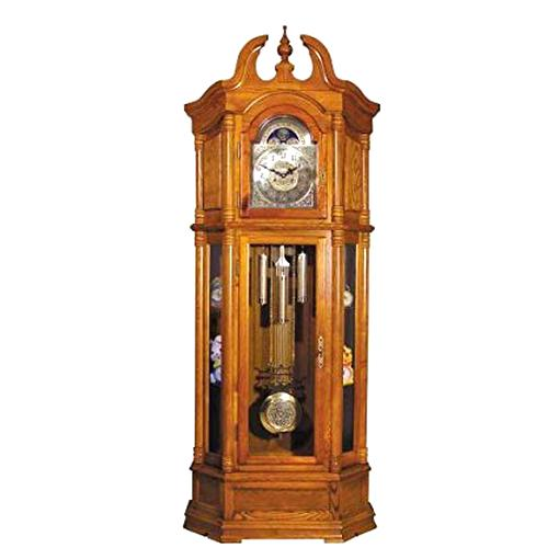 oak grandmother clock for sale