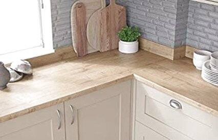 oak effect kitchen worktops for sale