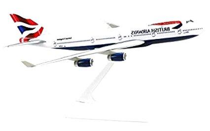 british airways 747 model for sale