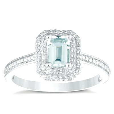 h samuel aquamarine ring for sale