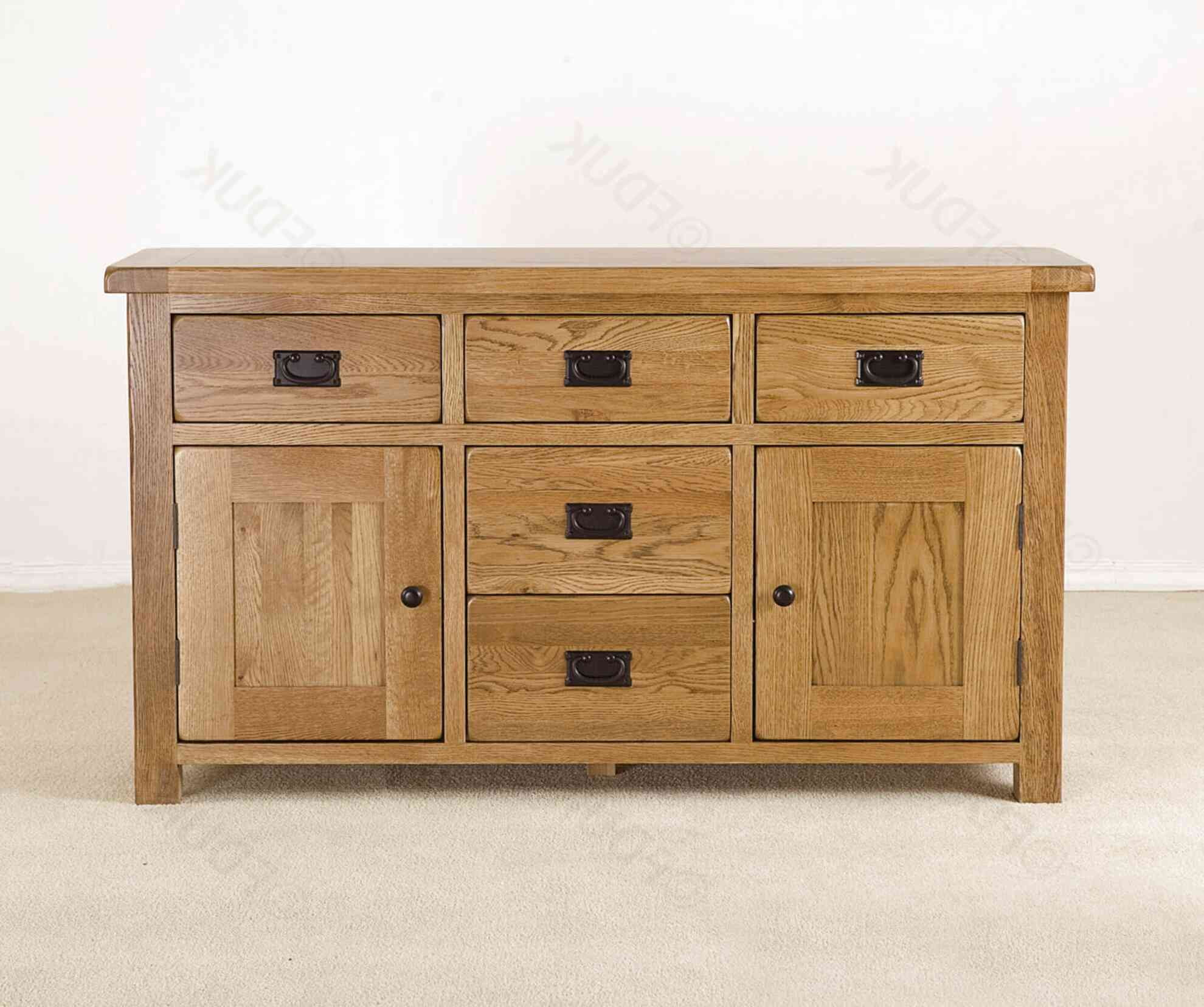 oak dresser with cupboards and drawers for sale