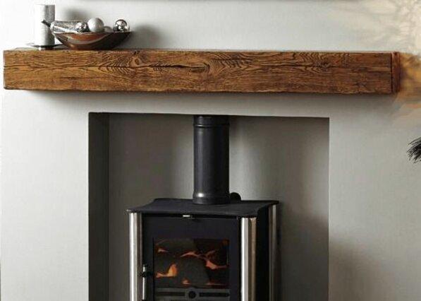 oak beam mantel for sale