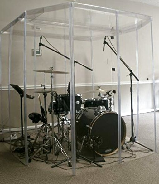 drum booth for sale