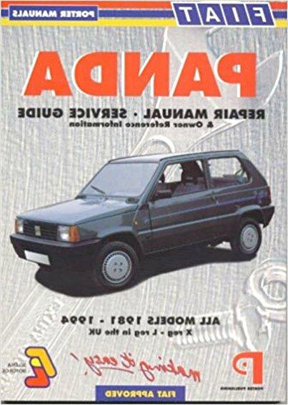 Fiat Panda Handbook For Sale In Uk