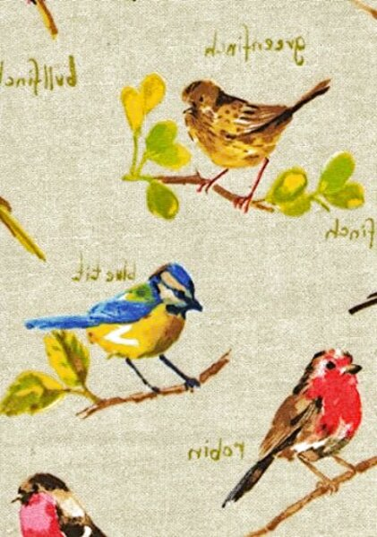 oilcloth tablecloth birds for sale
