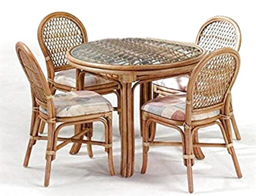 cane table chairs for sale