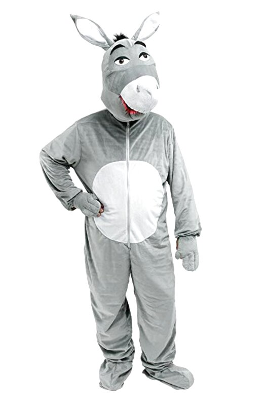 donkey costume for sale