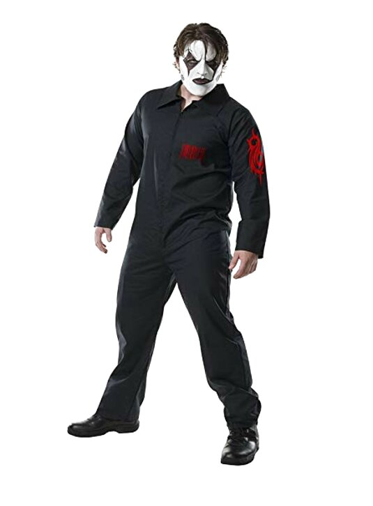 Band Slipknot Cosplay Loose Jumpsuit Halloween Performance Costume Men/'s