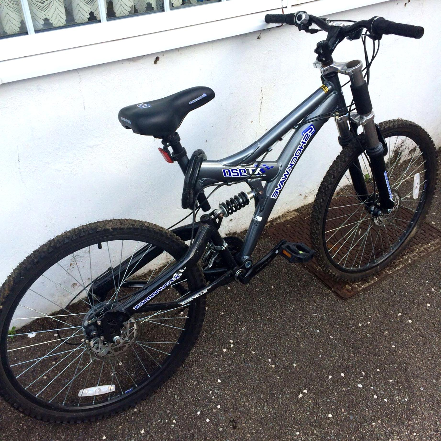shockwave mountain bike for sale