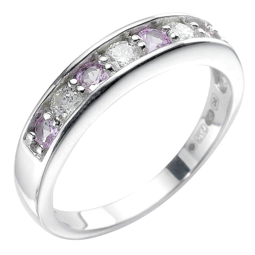 black diamond ring white gold ernest jones for sale